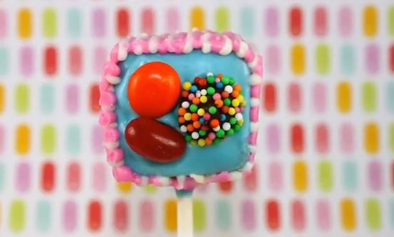 Learn how to make Candy Crush cake pops
