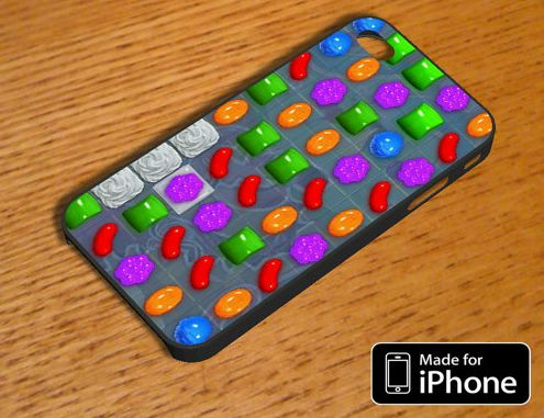 candy crush iphone case broadcasts your addiction candy crush
